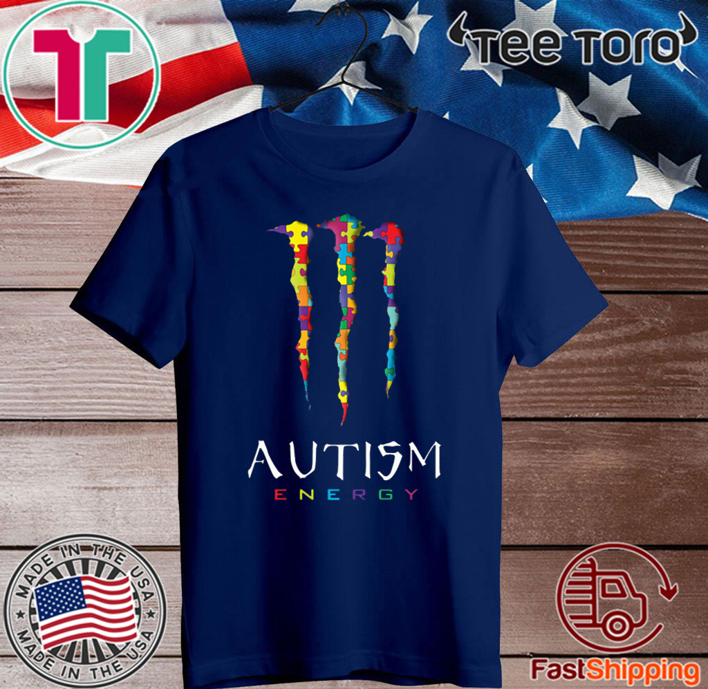 AUTISM ENERGY T-SHIRT MONSTER ENERGY