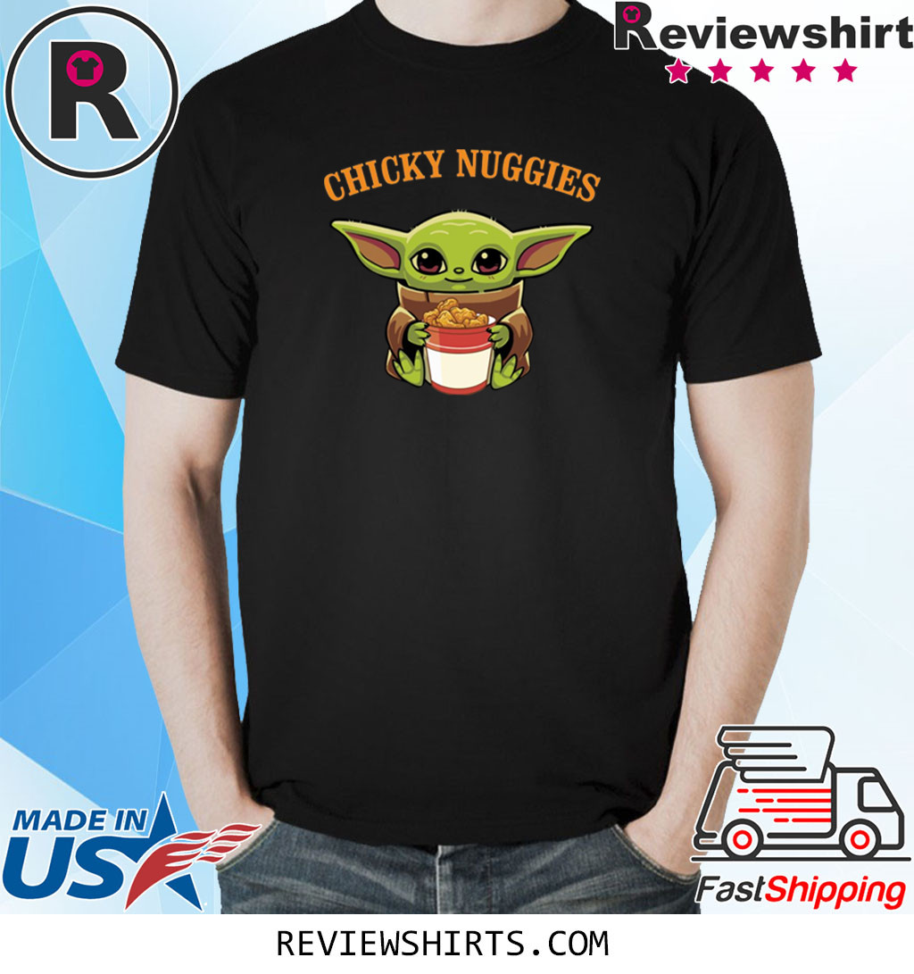 Baby Yoda Chicky Nuggies Shirt