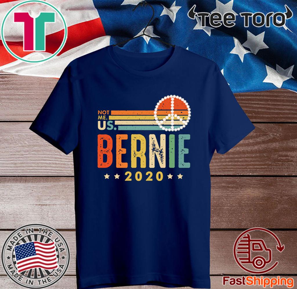Bernie Sanders 2020 For President Vintage T-Shirt
