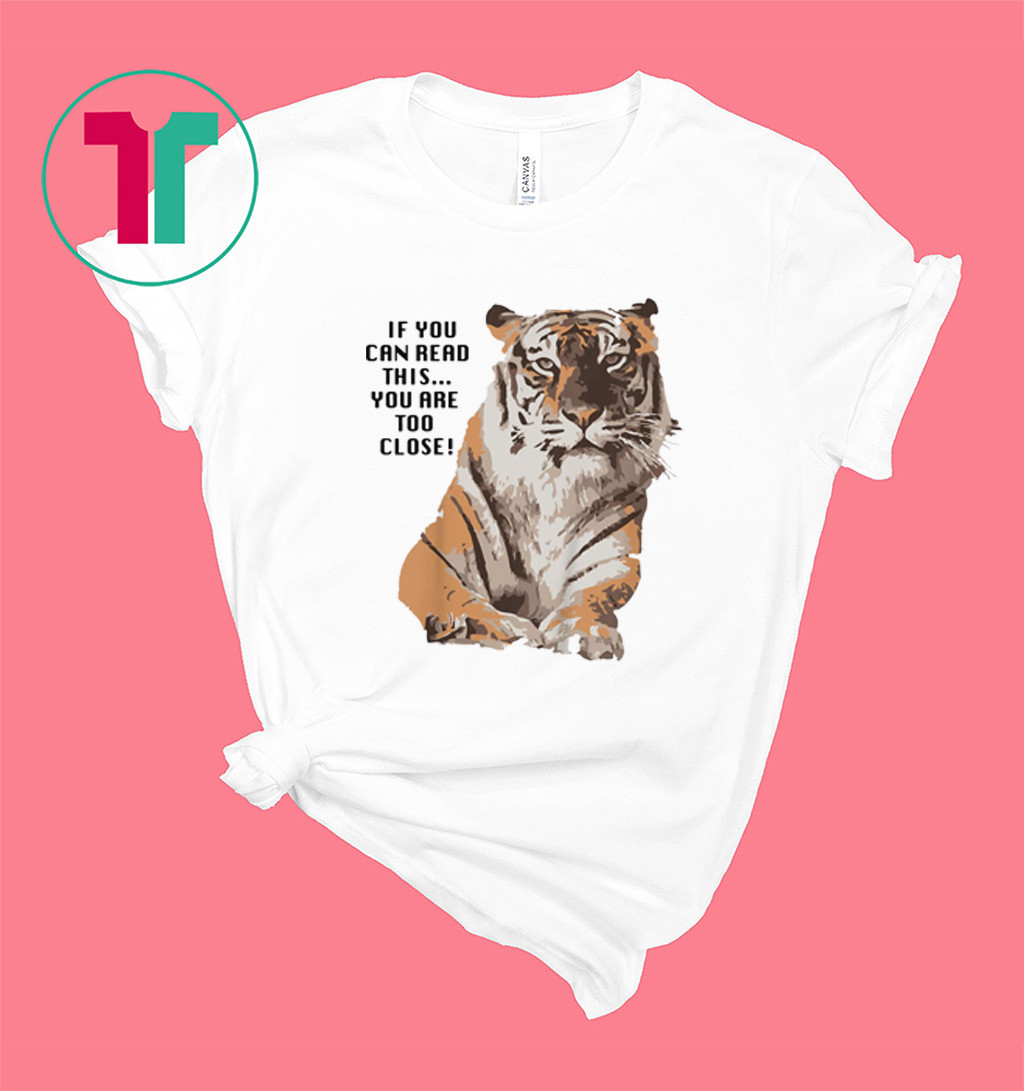 Big Cat Rescue Amanda Tiger Too Close Shirt