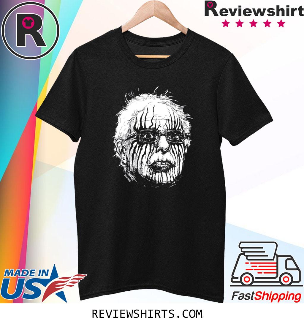 Black Metal Bernie Sanders Funny T-Shirt