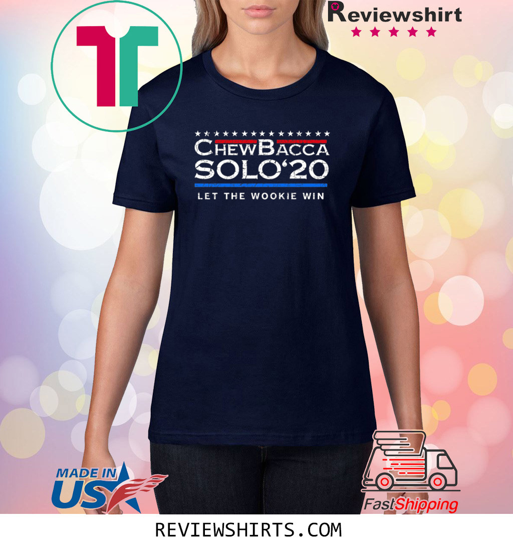 Chewbacca Solo 20 Let The Wookie Win Shirt