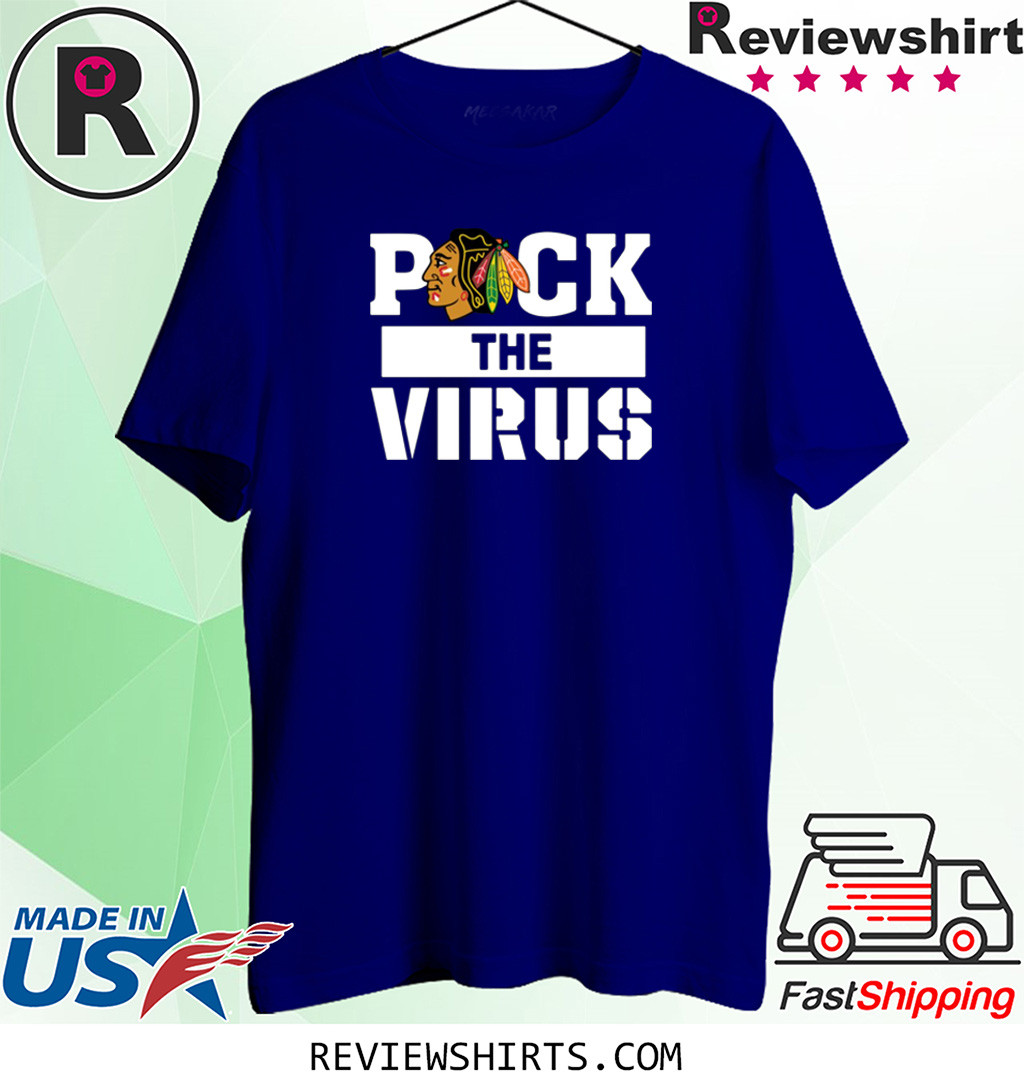 Chicago Blackhawks Puck The Virus Shirt