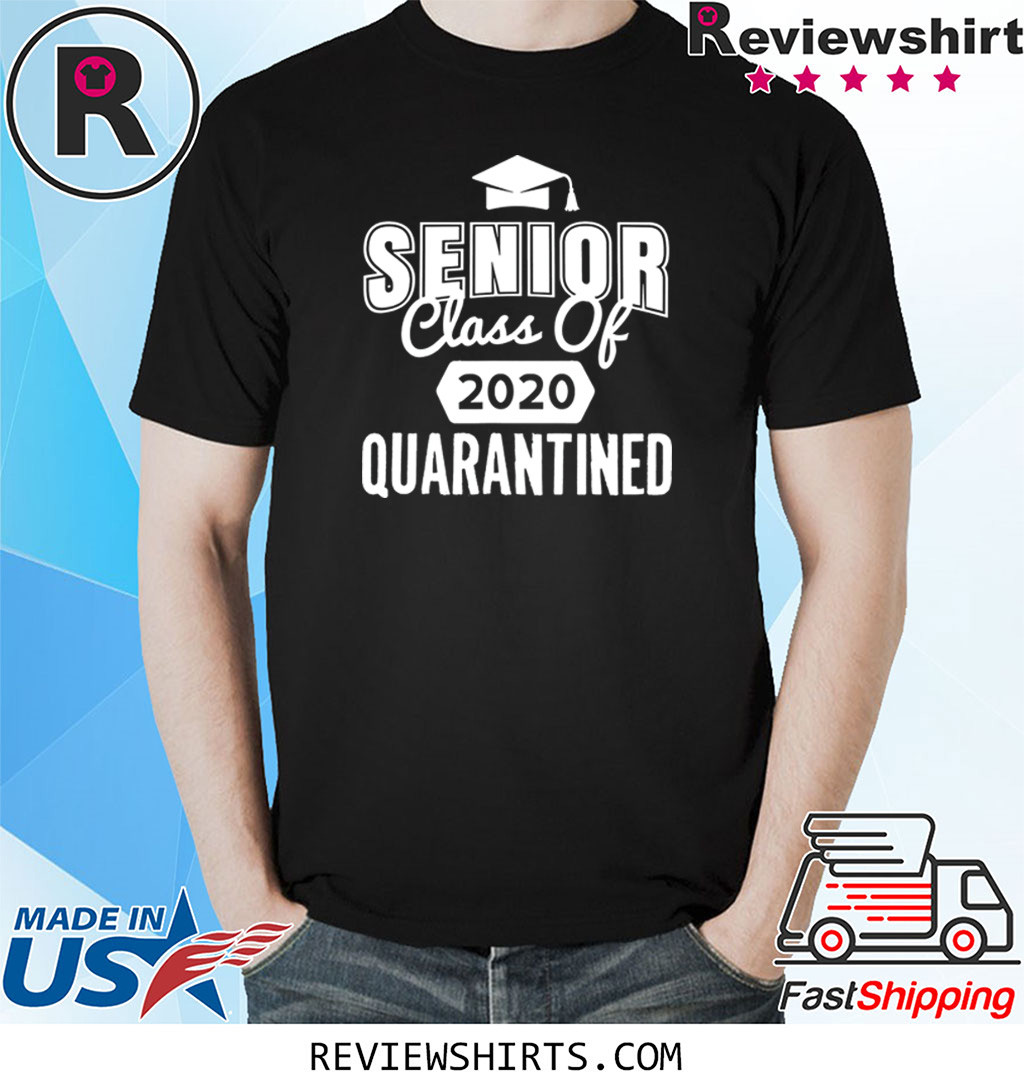 Class of 2020 Senior Quarantine Social Distancing Toilet Shirt