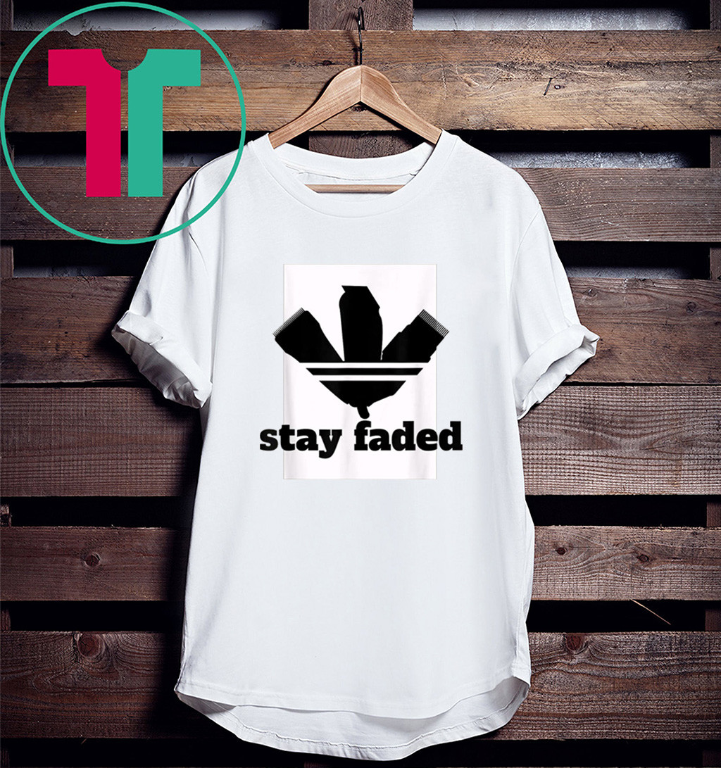 Barber Stay Faded T-Shirt