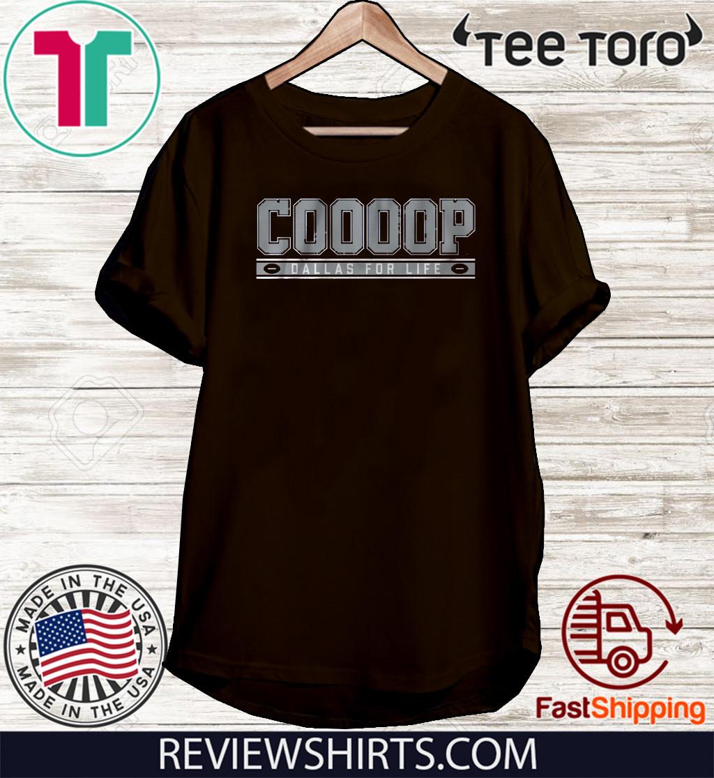 Cooooop Dallas Football Shirt