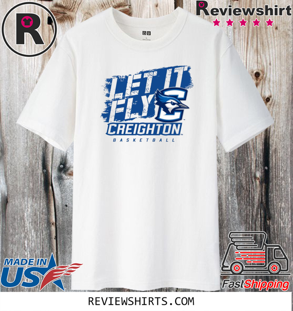 Creighton Basketball Let It Fly 2020 T-Shirt