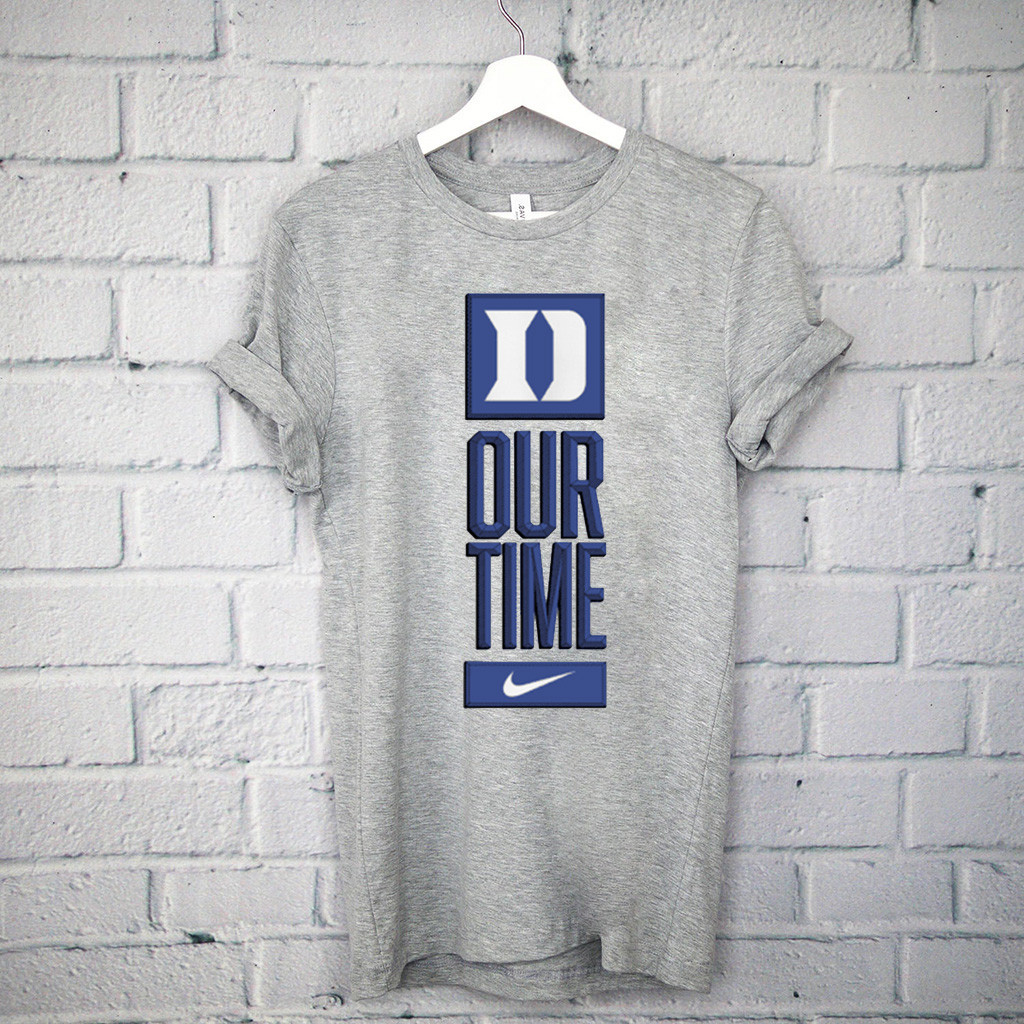 Duke Blue Devils Our Time Official T-Shirt