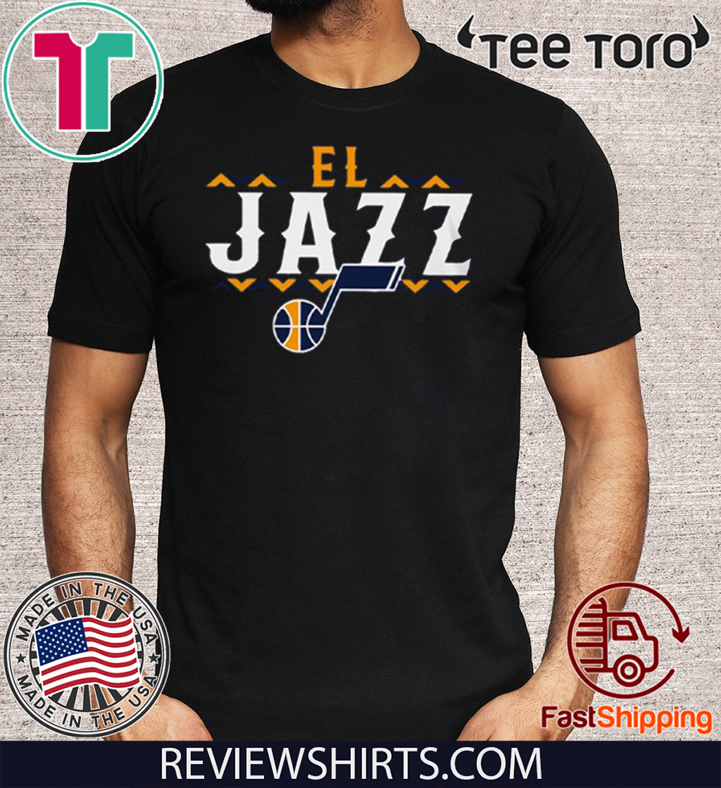 El Jazz Jersey Official T-Shirt
