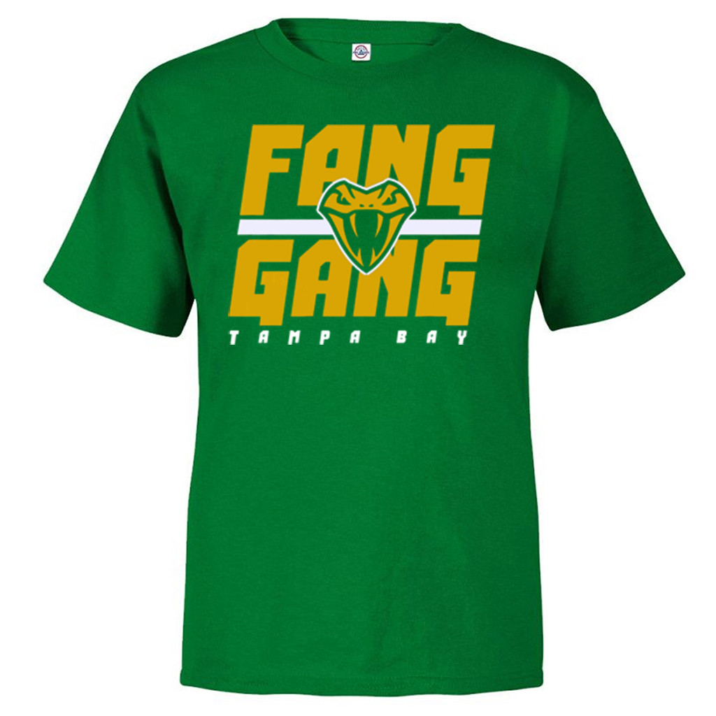 Fang Gang Shirt Tampa Bay Vipers 2020 T-Shirt