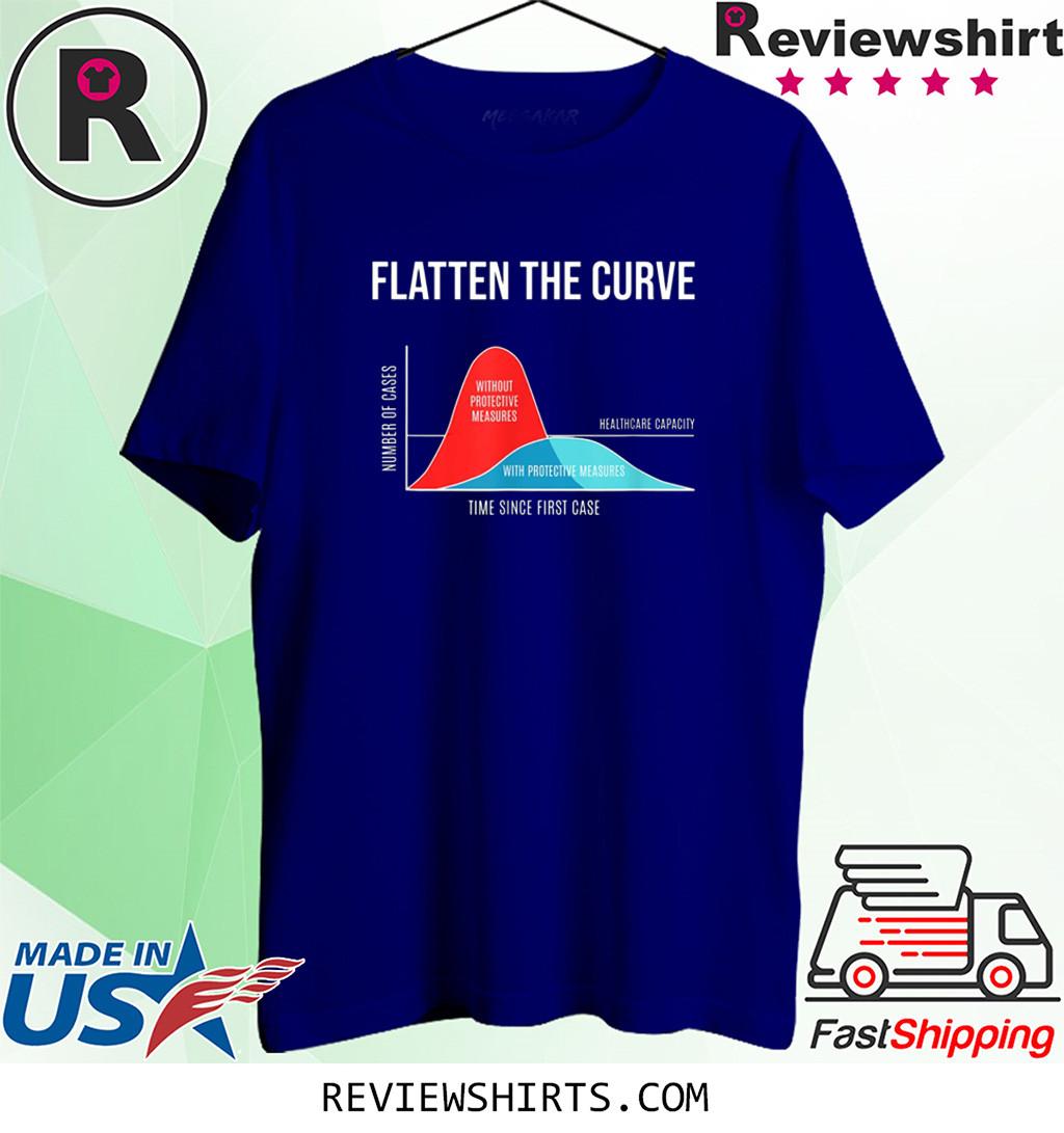 Flatten The Curve Shirt T-Shirt TShirt
