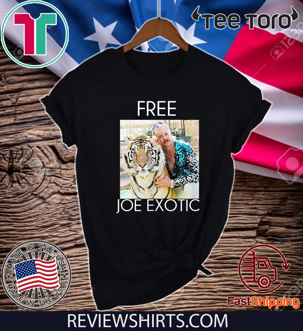 Free Joe Exotic Shirt Tiger King