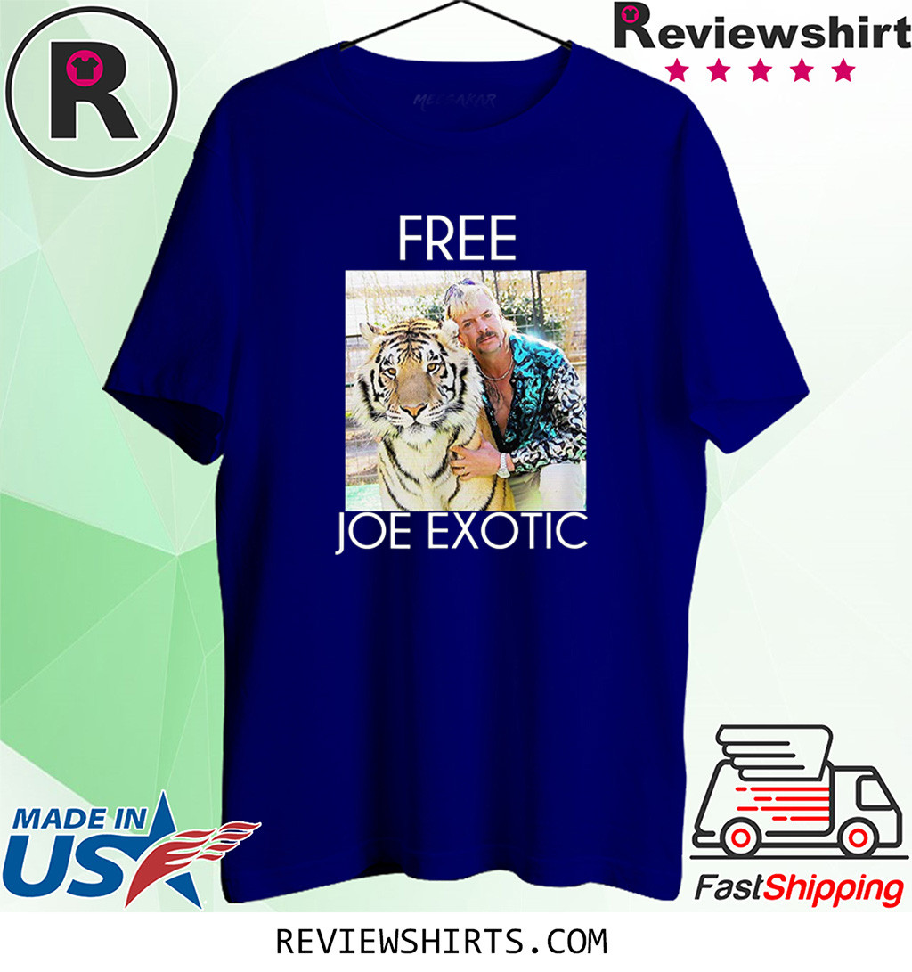 Free Joe Exotic Tiger King Shirt
