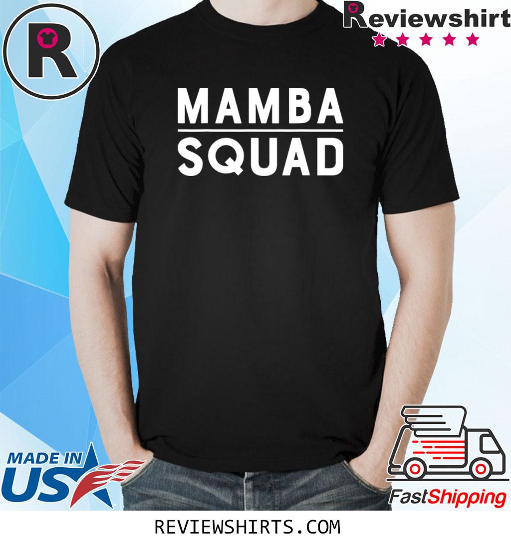 Funny Mamba Squad Cool T-Shirt