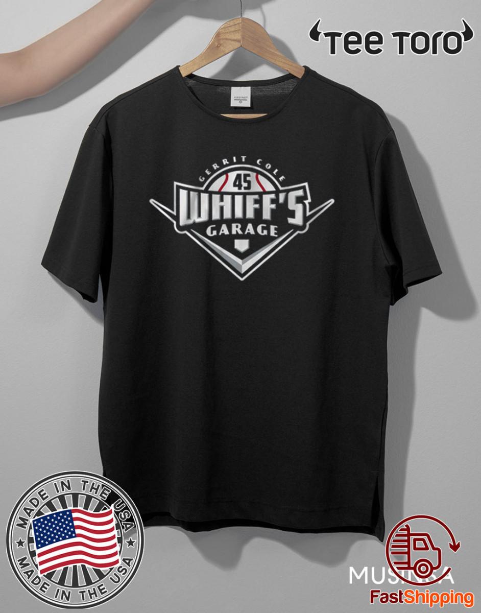 Gerrit Cole Whiff's Garage New York Shirt
