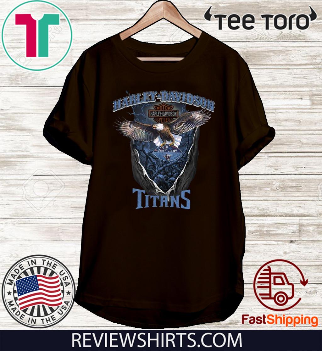 Harley-Davidson Motor Cycles Titans Shirt