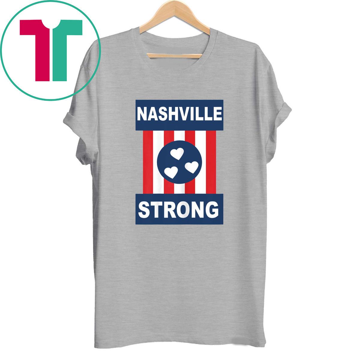 Hearts Nashville Strong Tornado Shirt