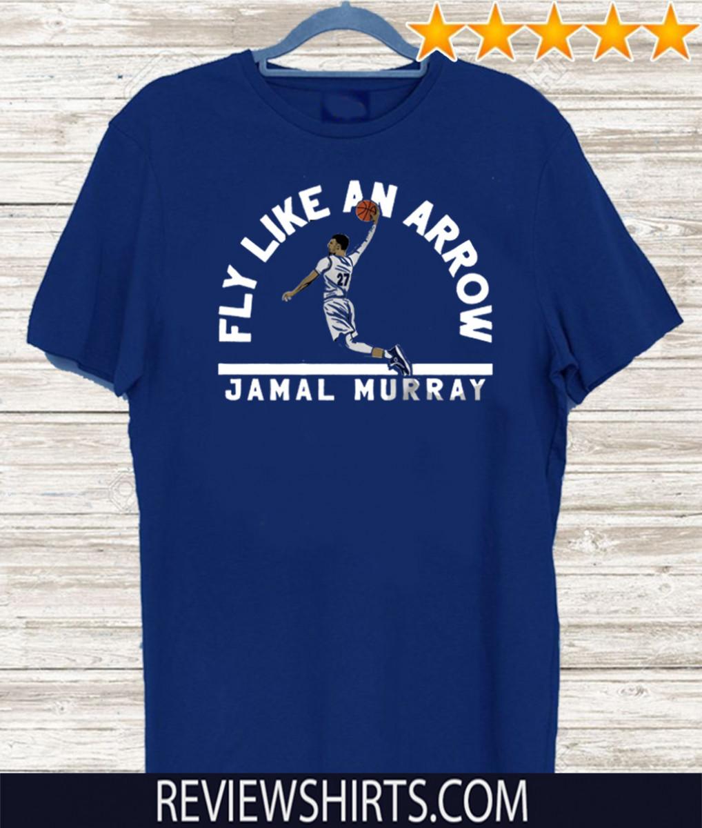Jamal Murray Fly Like an Arrow Denver 27 T-Shirt