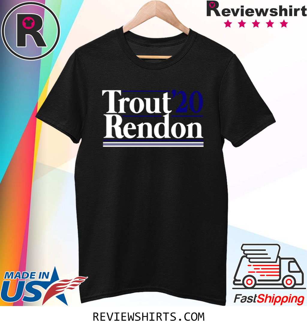 Mike Trout and Anthony Rendon 2020 Campaign Shirt