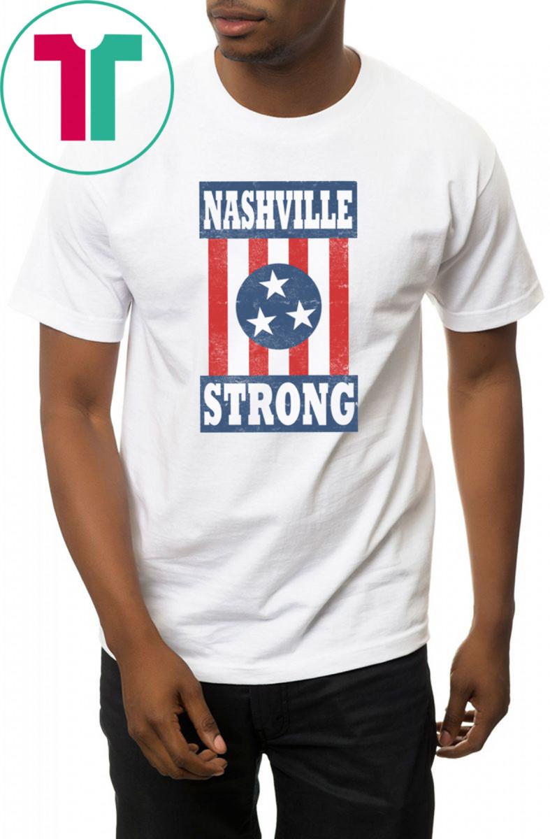 NASHVILLE STRONG I Believe In Nashville T-Shirt