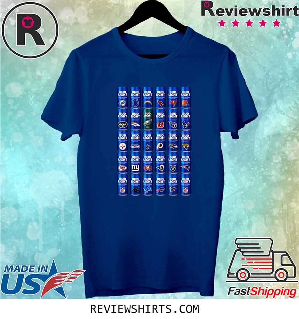 NFL Bud Light Logo Men's T-Shirt