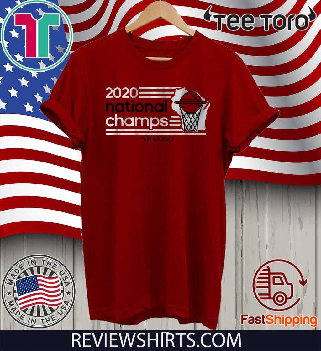 Sim Champs Shirt - Madison, WI Basketball
