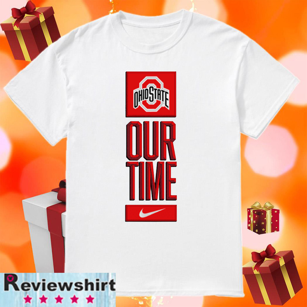 Ohio State Buckeyes Our Time 2020 T-Shirt