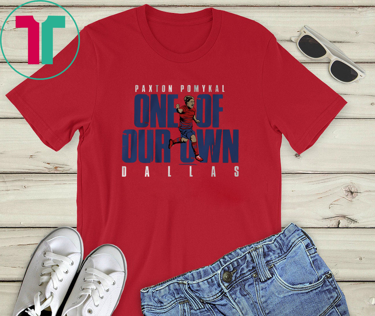 Paxton Pomykal One of Our Own Dallas Shirt