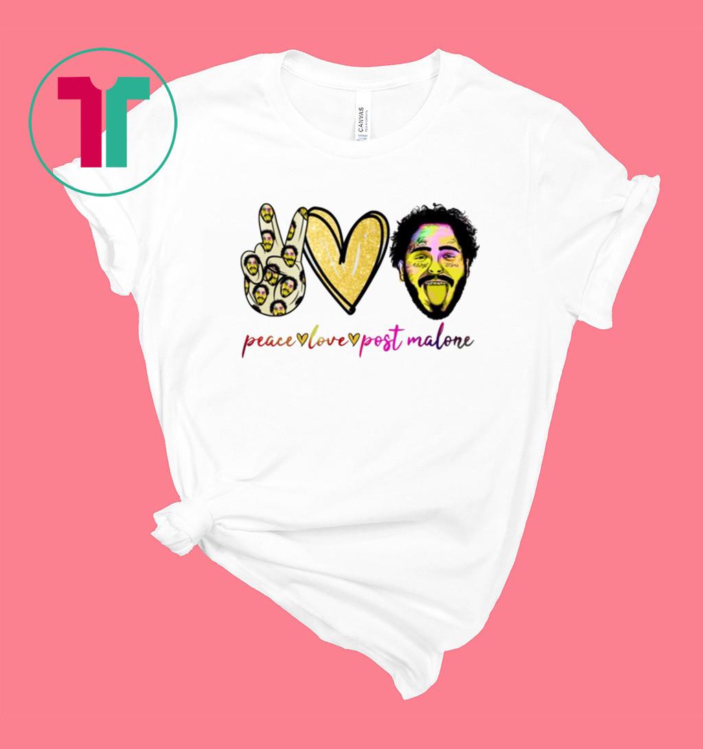 Peace love Post Malone Shirt