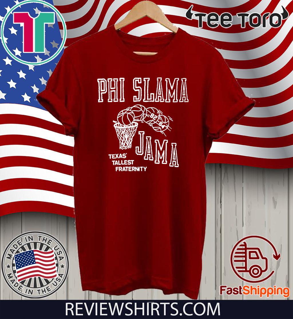 Phi Slama Jama Houston Cougars 1980s College Basketball Shirt