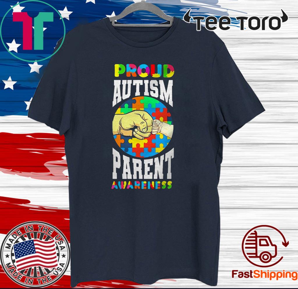 Proud Autism Parent Awareness T-Shirt