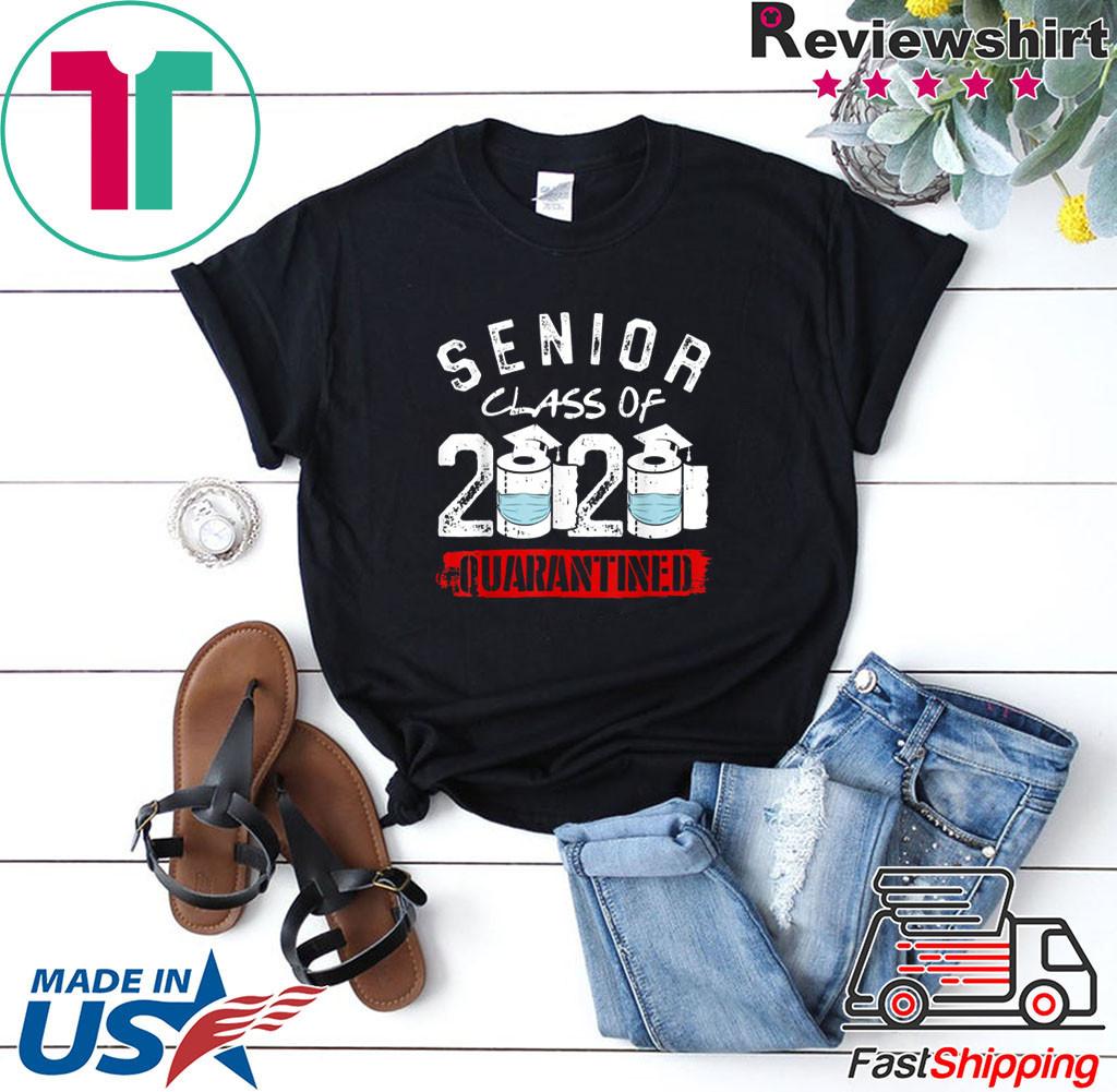 Senior Class of 2020 Quarantine Graduation Toilet Paper Shirt