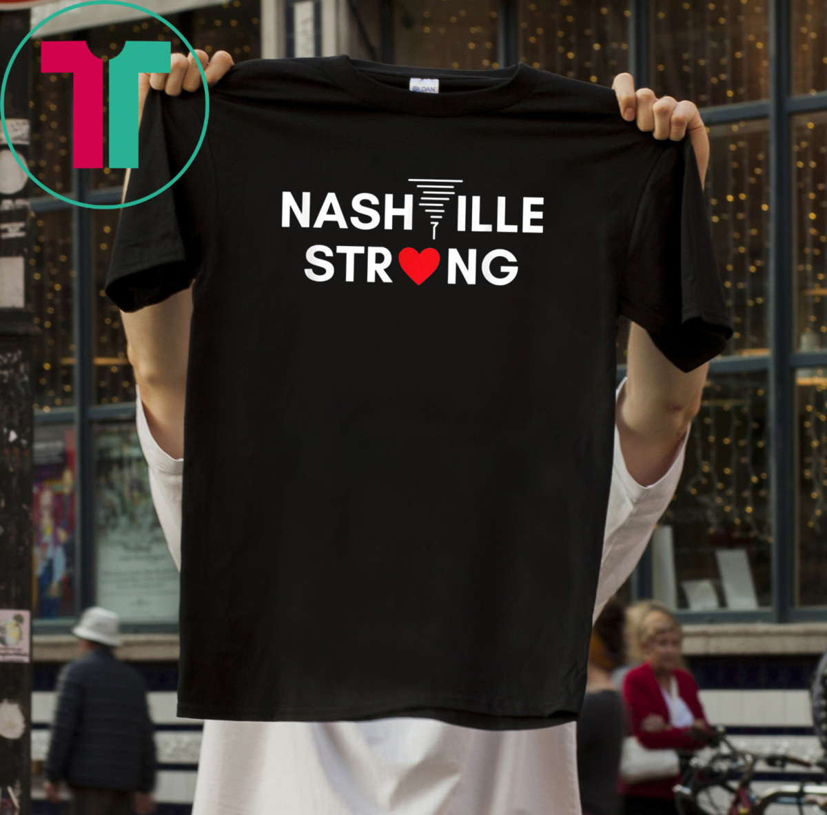 Tennessee Nashville Strong Tornado T-Shirt