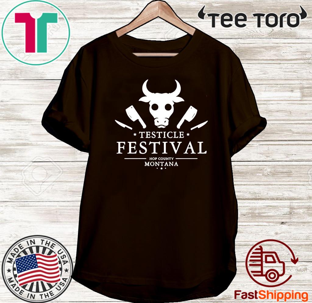 Testicle Festival Hop County Montana Shirt