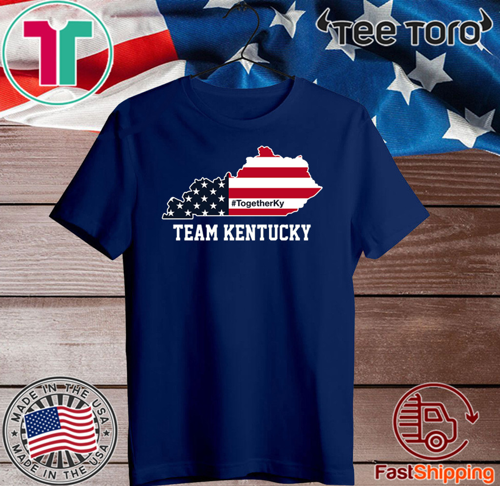 #Togetherky Team Kentucky Flag T-Shirt