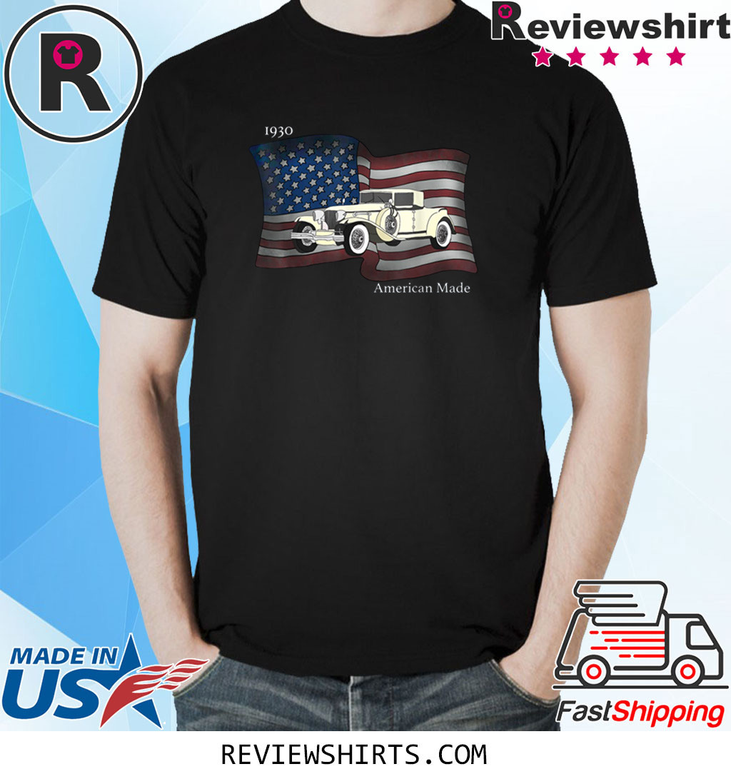 Vintage American Made Classic Car T-Shirt