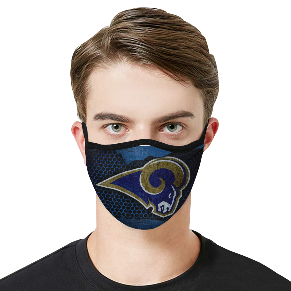 Los Angeles Rams Face Mask PM2.5