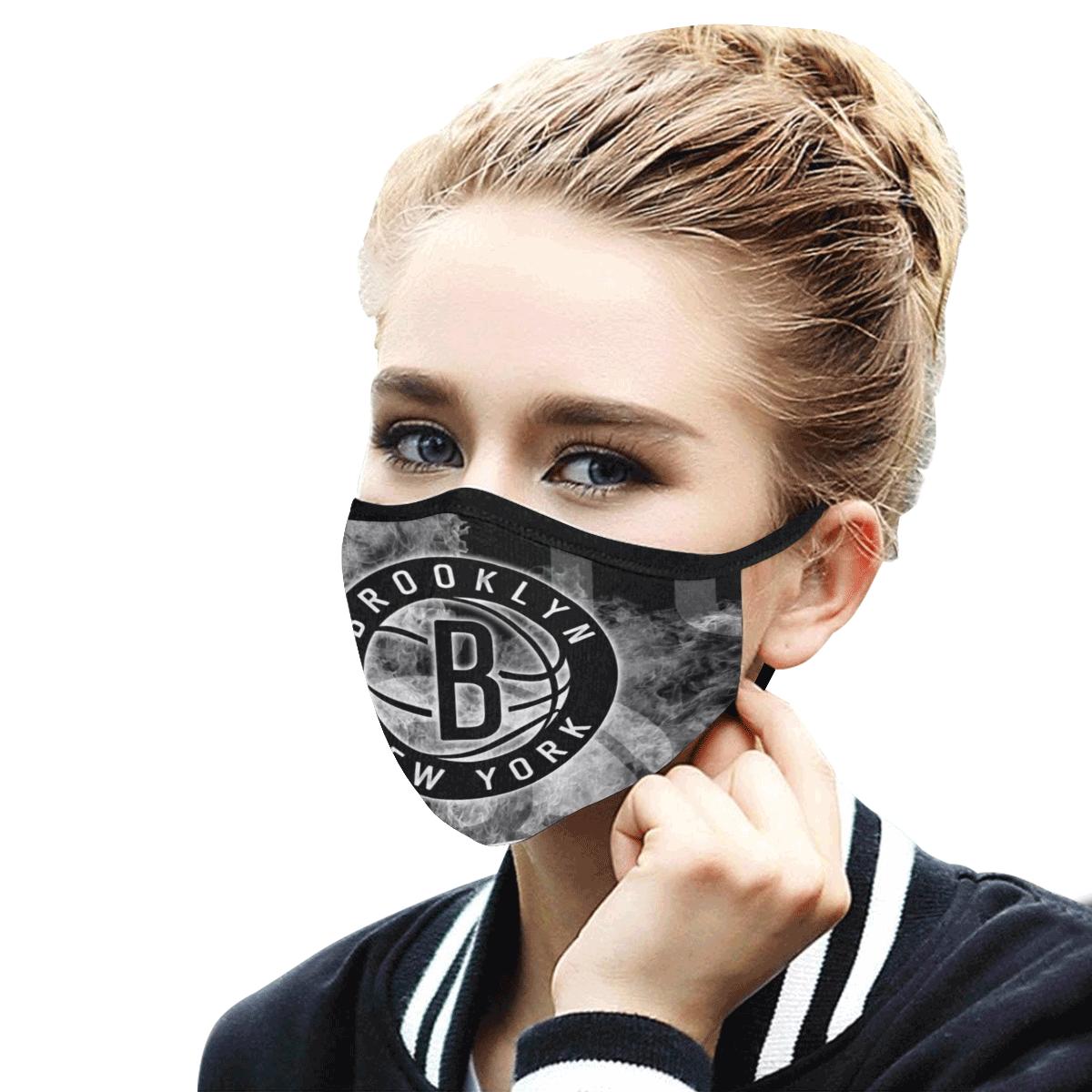 Brooklyn Nets Face Mask PM2.5
