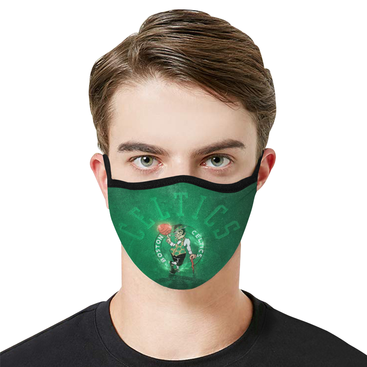 Boston Celtics Face Mask