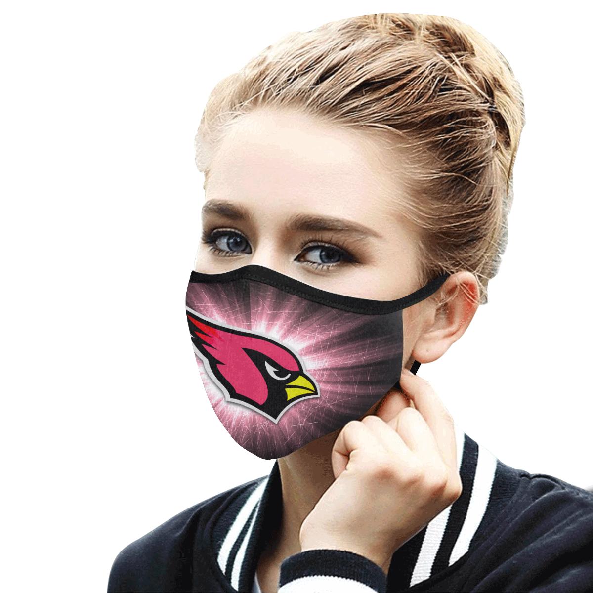 Arizona Cardinals Face Mask PM2.5