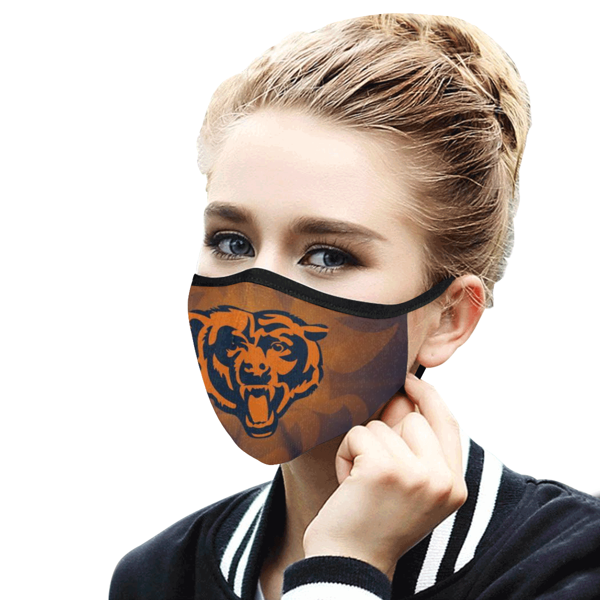 Chicago Bears Face Face Mask PM2.5