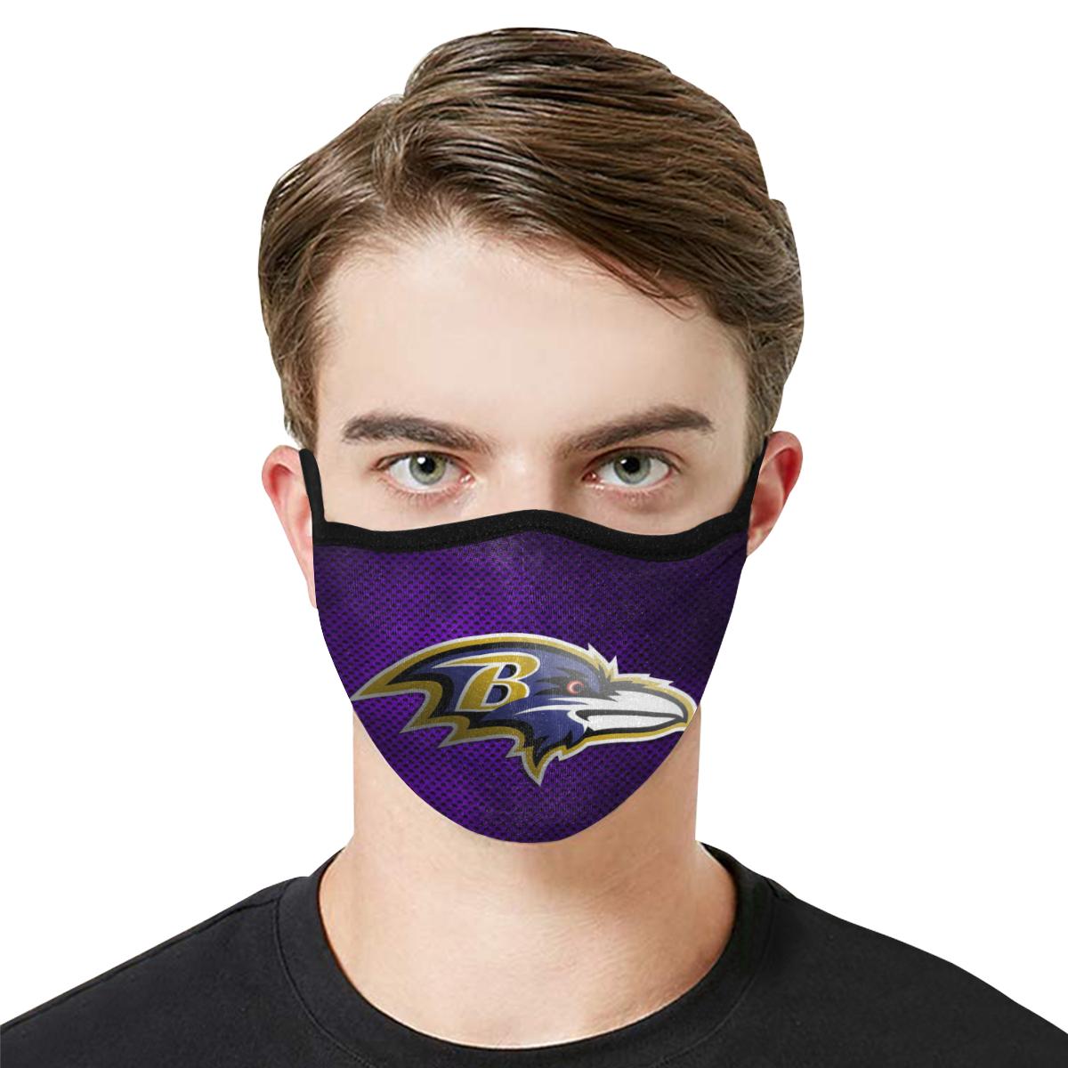 Baltimore Ravens Face Mask PM2.5
