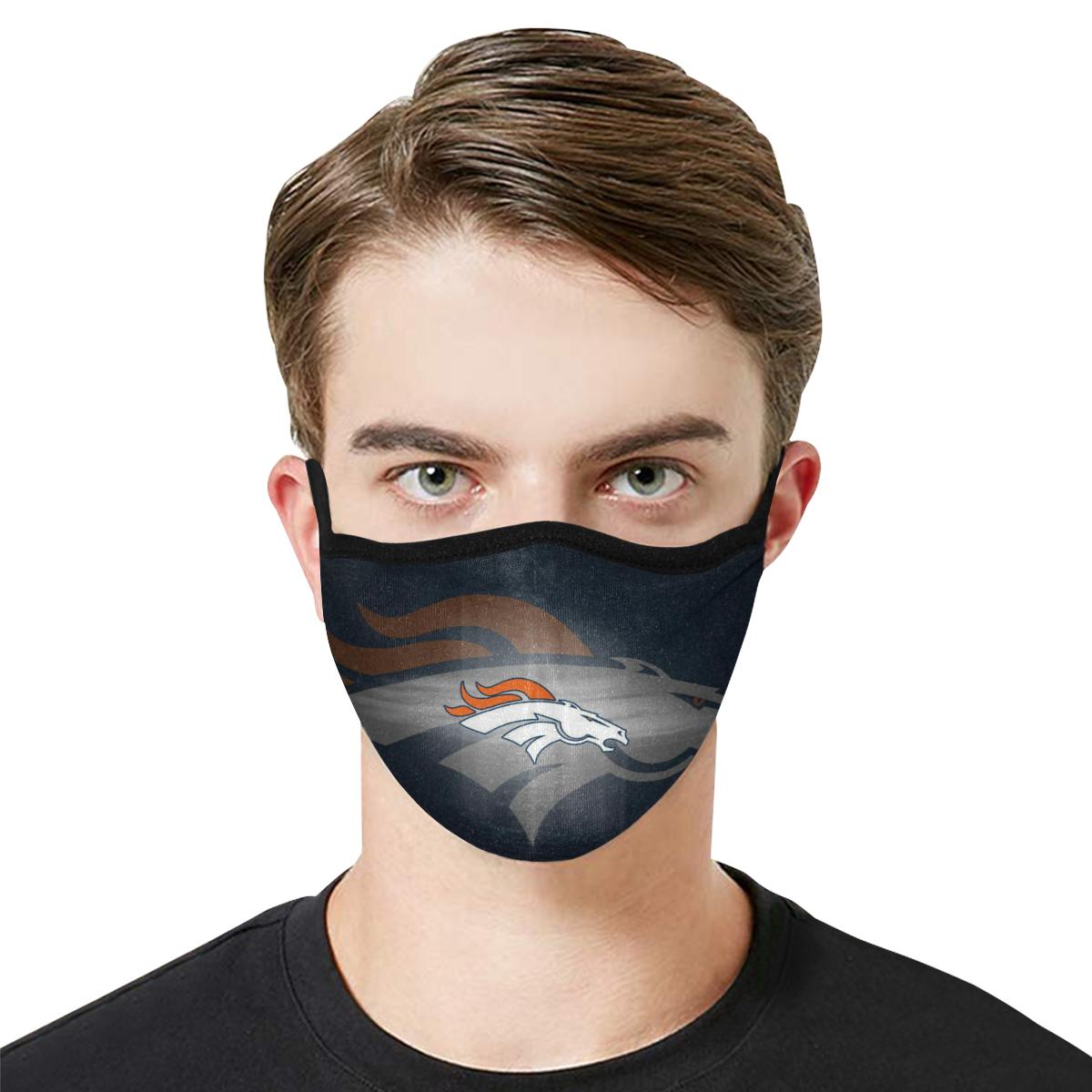 Denver Broncos Face Mask PM2.5