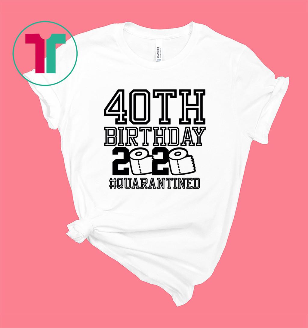 60th Birthday Quarantined Shirt