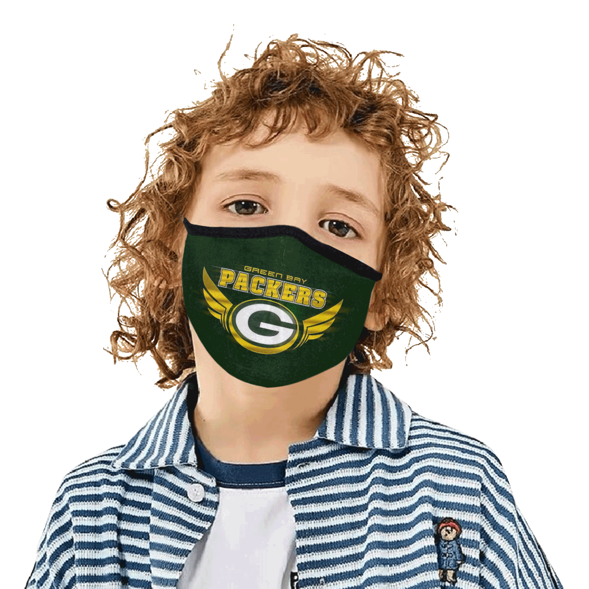 Green Bay Packers Face Mask PM2.5