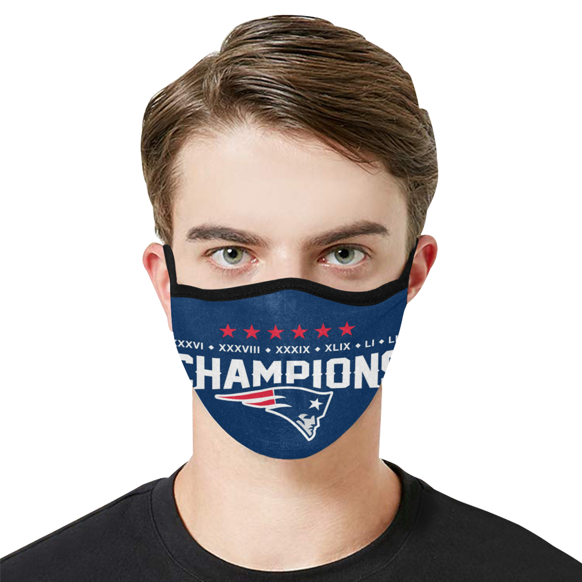 New England Patriots Face Mask PM2.5