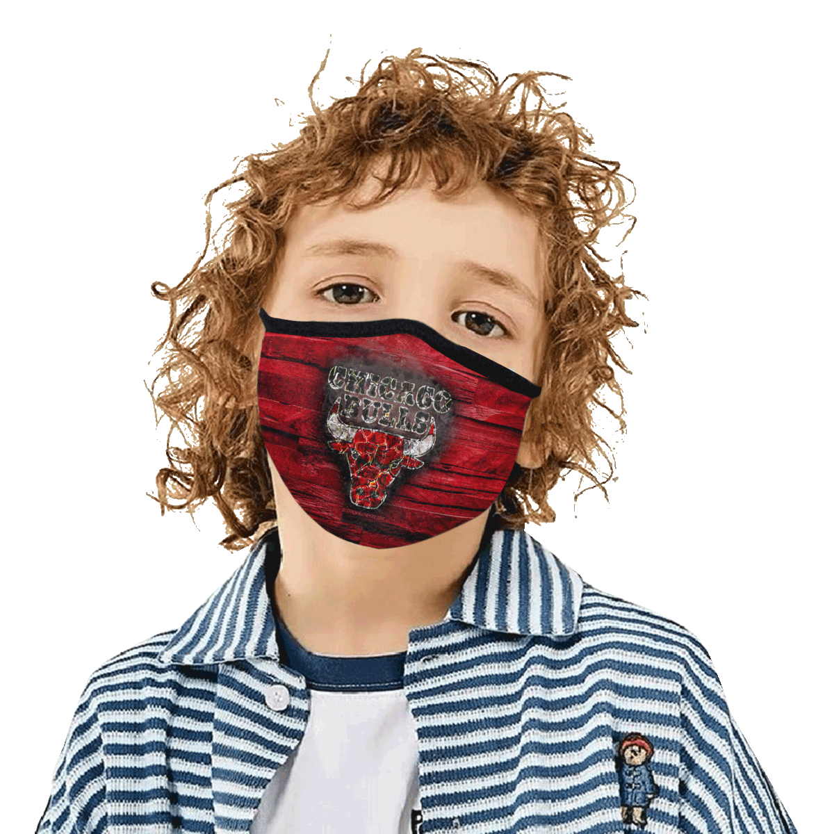 Chicago Bulls Face Mask PM2.5