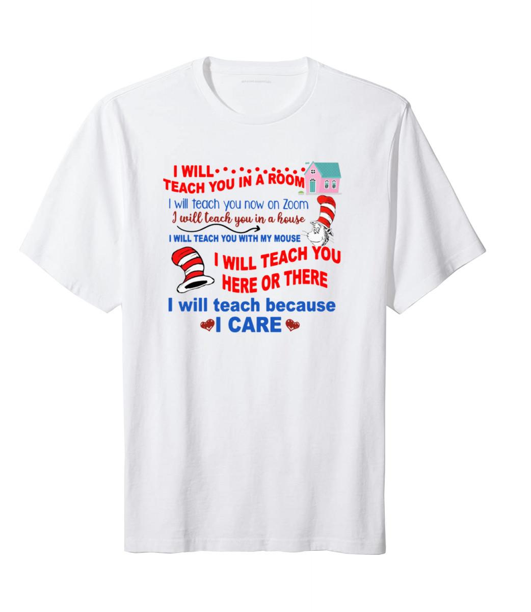 Funny Dr Seuss Teacher Shirt