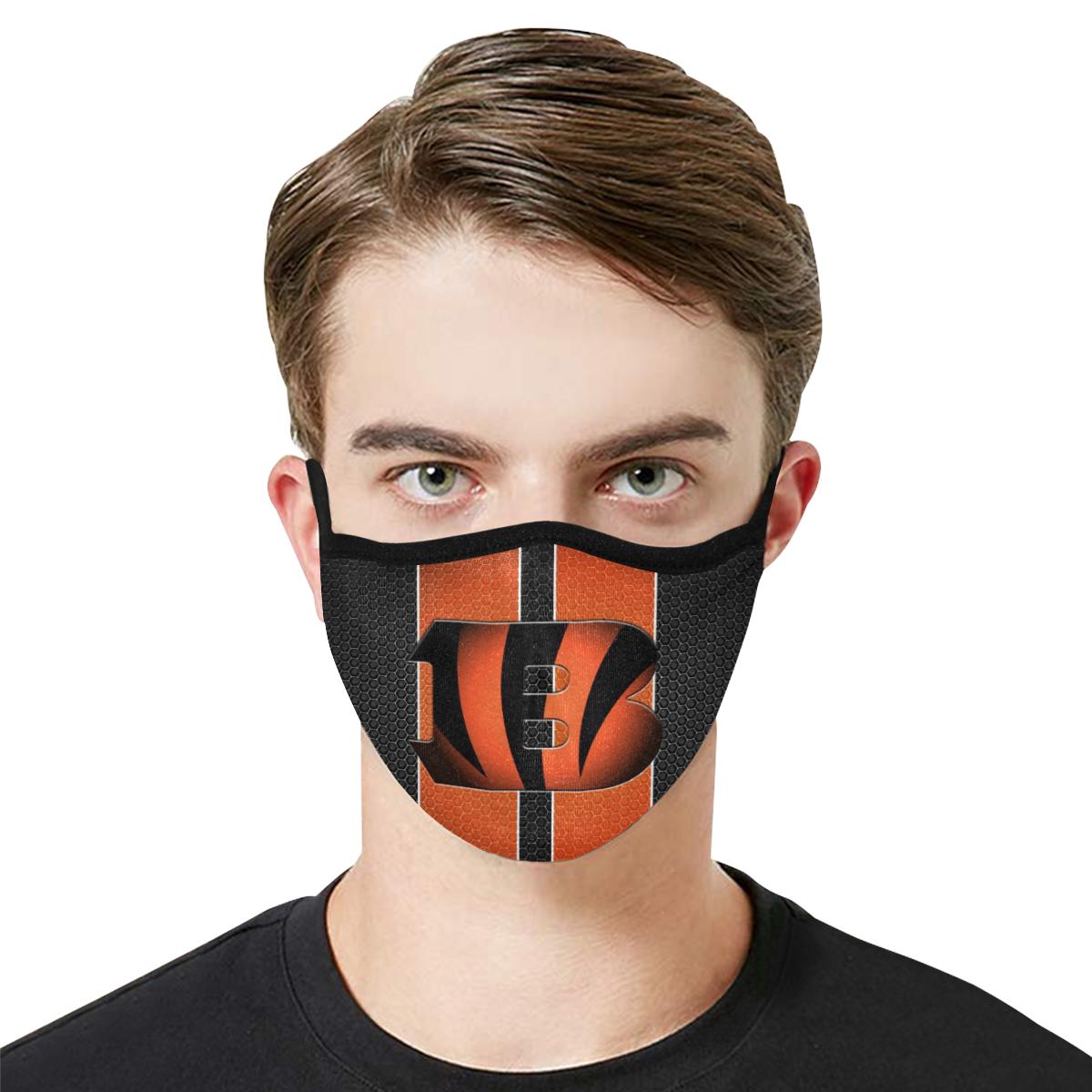 Cincinnati Bengals Face Mask PM2.5