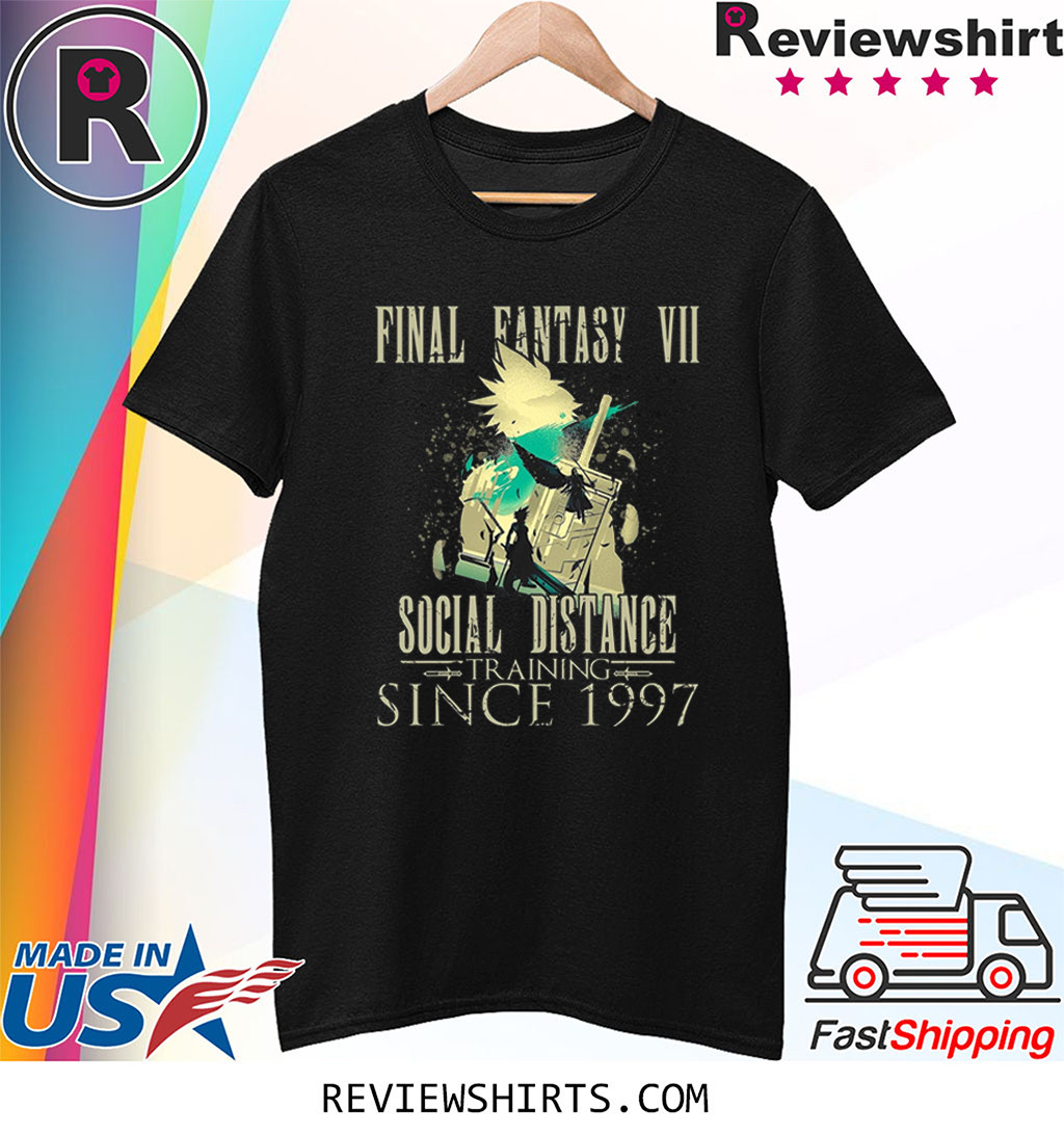 Final Lovers Fantasy Video Game VII Social Distance Training Since 1997 Quarantine Shirt
